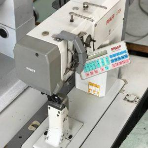 Masina electronica de aplicat maneci Pfaff 3734